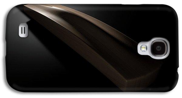 Cricket Bat Dark Galaxy S4 Case