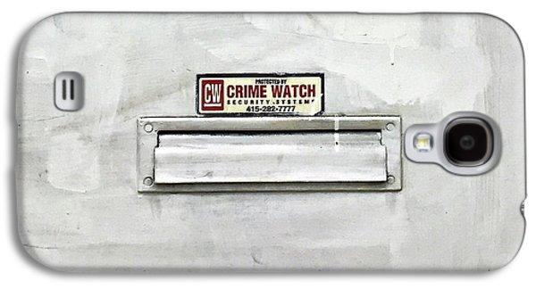 Crime Watch Mailslot Galaxy S4 Case