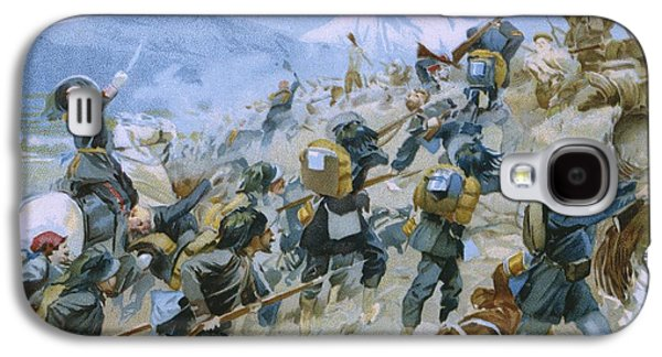 Crimean War And The Battle Of Chernaya Galaxy S4 Case by Italian School