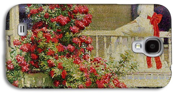 Crimson Rambler Galaxy S4 Case by Philip Leslie Hale