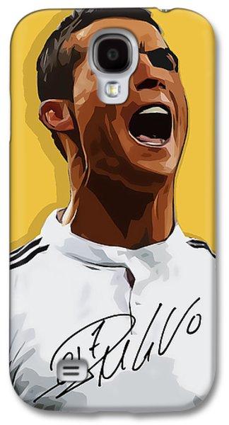 Cristiano Ronaldo Cr7 Galaxy S4 Case by Semih Yurdabak