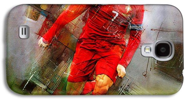 Cristiano Ronaldo  Galaxy S4 Case by Gull G