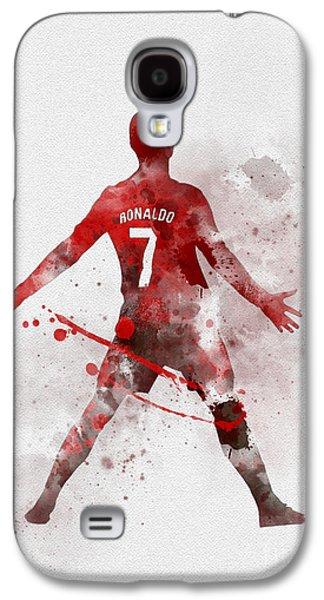 Cristiano Ronaldo United Galaxy S4 Case