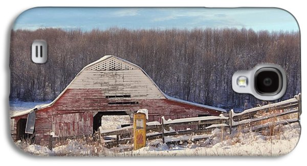 Crooked Fence Farm Galaxy S4 Case by Benanne Stiens