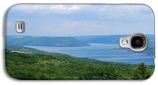 Crooked Lake Bluff Of Keuka Lake Galaxy S4 Case by Alisa Potter