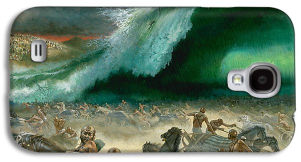 Religious Galaxy S4 Cases - Crossing the Red Sea Galaxy S4 Case by Anonymous