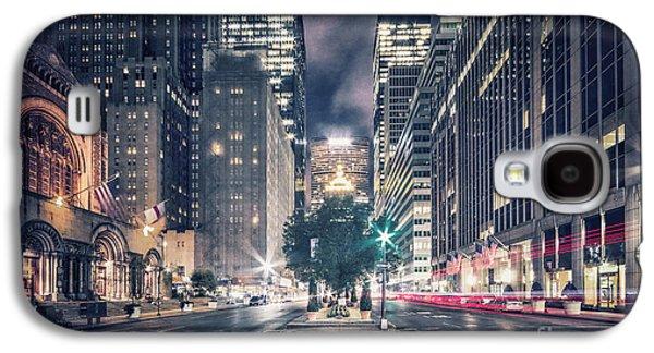 Crosstown Galaxy S4 Case by Evelina Kremsdorf