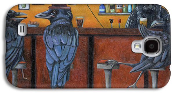 Crow Bar Galaxy S4 Case by Leah Saulnier The Painting Maniac