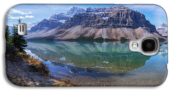 Crowfoot Reflection Galaxy S4 Case by Chad Dutson