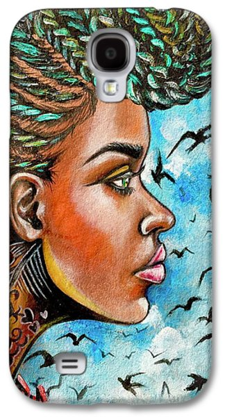 Galaxy S4 Case - Crowned Royal by Artist RiA