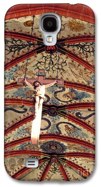 Crucifix In The Carmelite Convent Church In Mainz   Galaxy S4 Case by Sarah Loft