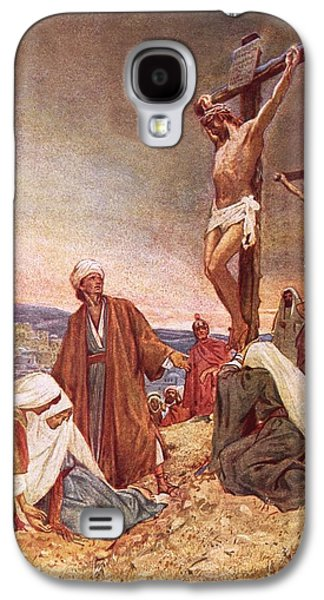 Crucifixion Galaxy S4 Case by William Brassey Hole