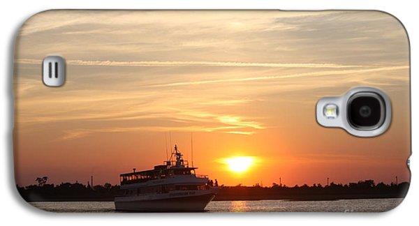 Cruising At Sunset Galaxy S4 Case by John Telfer