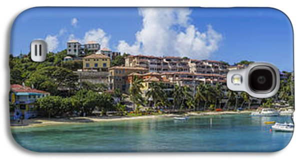 Galaxy S4 Case featuring the photograph Cruz Bay, St. John by Adam Romanowicz