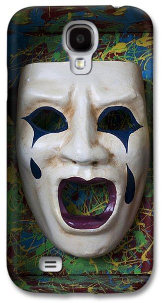 Crying Mask In Box Galaxy S4 Case