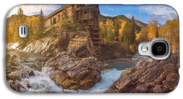 Crystal Mill Fall Sunrise Galaxy S4 Case by Darren White