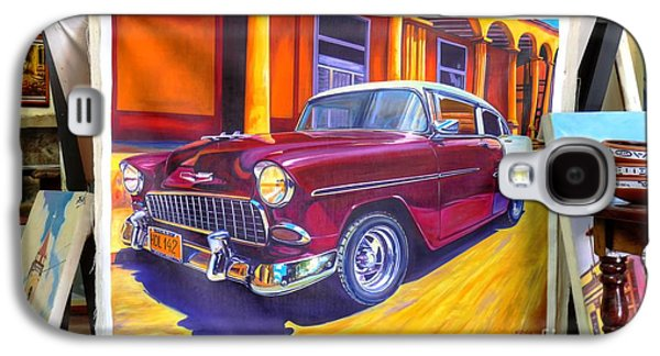 Cuban Art Cars Galaxy S4 Case by Wayne Moran
