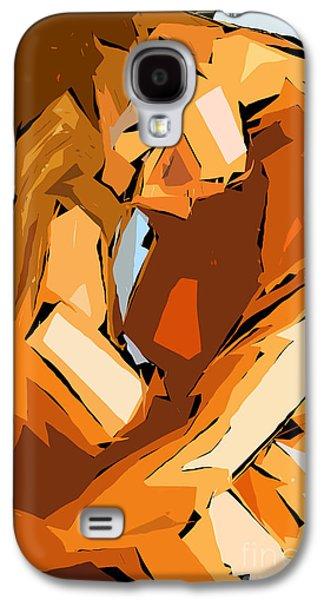Cubism Series Ix Galaxy S4 Case