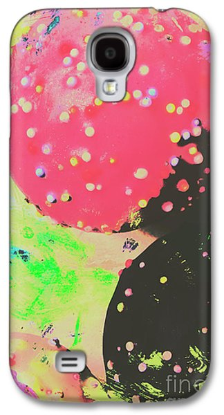 Cup Cake Birthday Splash Galaxy S4 Case