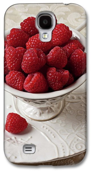 Cup Full Of Raspberries  Galaxy S4 Case