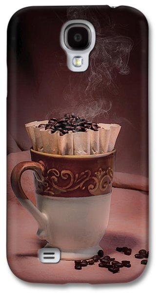 Cup Of Hot Coffee Galaxy S4 Case by Tom Mc Nemar