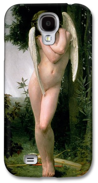 Cupidon Galaxy S4 Case by William Adolphe Bouguereau