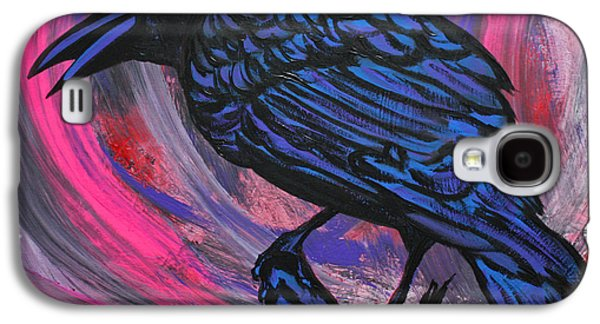 Curious Crow  Galaxy S4 Case