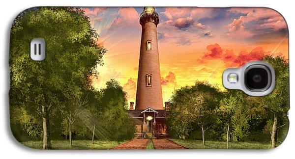 Currituck Beach Lighthouse 3 Galaxy S4 Case