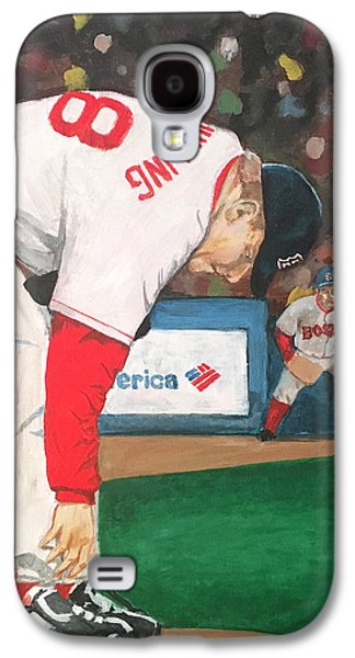 Curt Schilling And The Bloody Sock Galaxy S4 Case by Cailin Koy