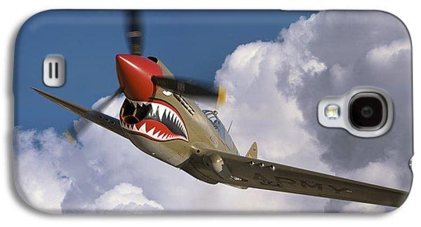 Curtiss P-40n Warhawk Galaxy S4 Case by Larry McManus