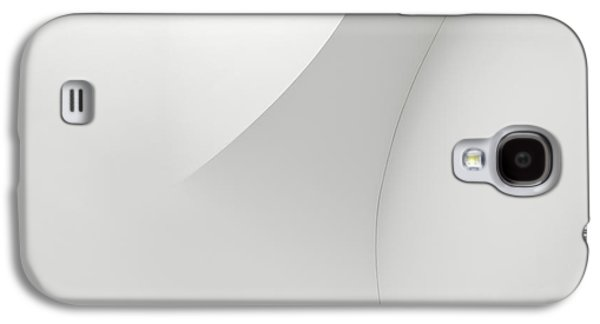 Curved Lines 1 Galaxy S4 Case by Scott Norris