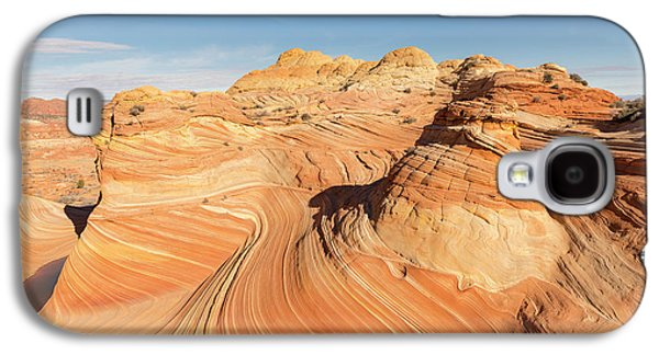 Curves Into Waves Galaxy S4 Case by Tim Grams