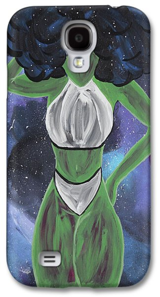 Curves Out Of This World Galaxy S4 Case by Cyrionna The Cyerial Artist