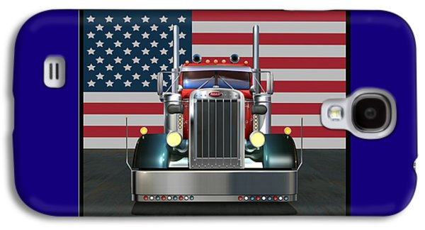 Custom Peterbilt 2 Galaxy S4 Case