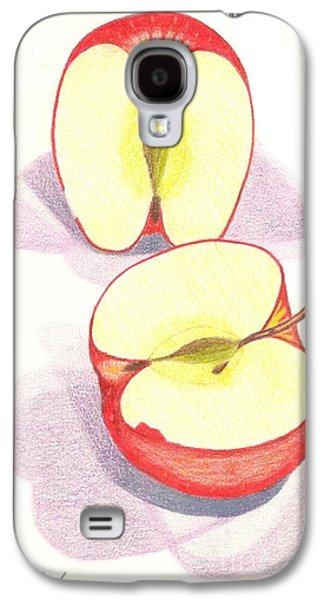 Cut Apple Galaxy S4 Case by Rod Ismay