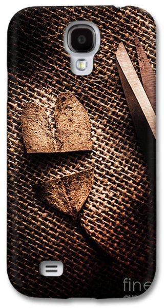 Cut Heart Leaf, Fall Of Love Galaxy S4 Case by Jorgo Photography - Wall Art Gallery