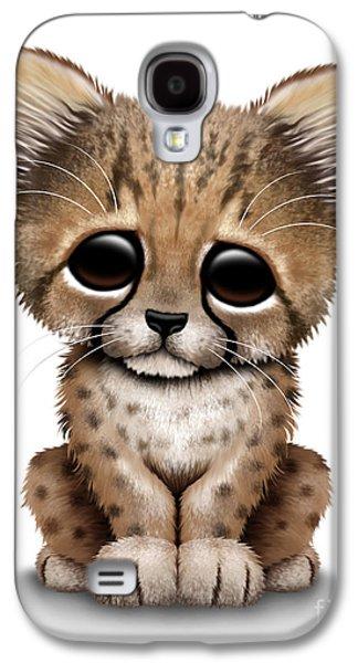 Cute Baby Cheetah Cub Galaxy S4 Case
