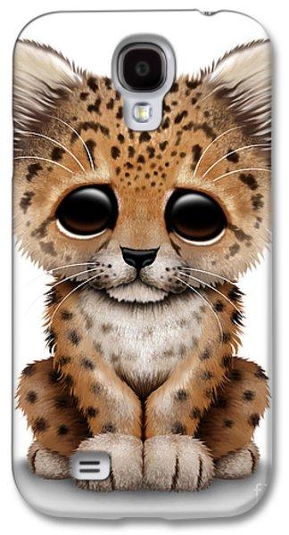 Cute Baby Leopard Cub Galaxy S4 Case