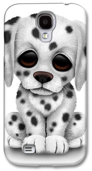 Cute Dalmatian Puppy Dog Galaxy S4 Case