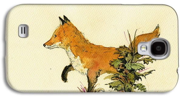 Cute Fox In The Forest Galaxy S4 Case