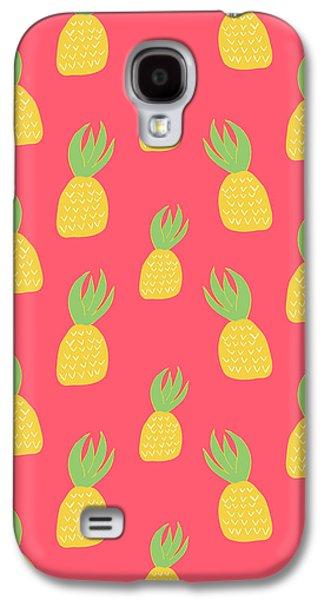 Cute Pineapples Galaxy S4 Case