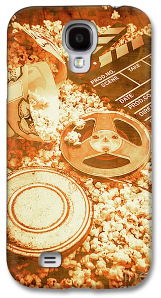 Cutting A Scene Of Vintage Film Galaxy S4 Case by Jorgo Photography - Wall Art Gallery
