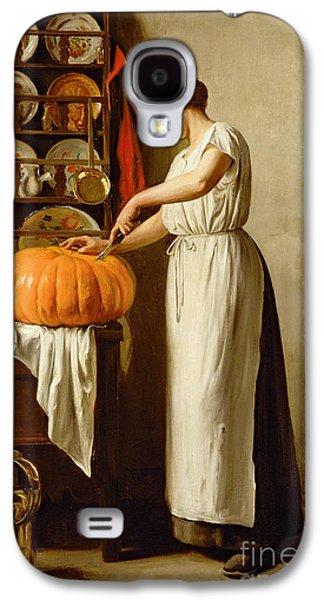 Cutting The Pumpkin Galaxy S4 Case