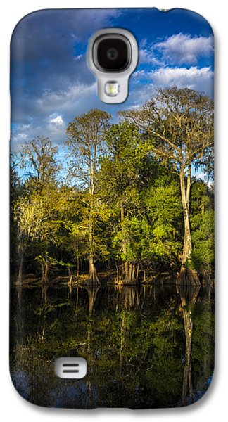 Cypress And Oaks Galaxy S4 Case by Marvin Spates