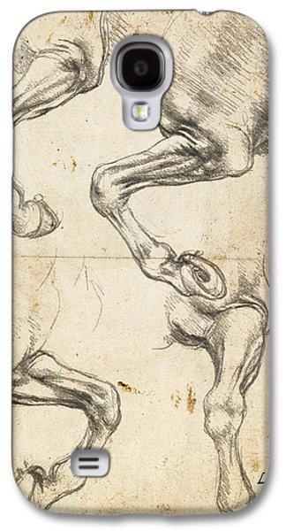 Da Vinci Horse Leg Study By Da Vinci Galaxy S4 Case