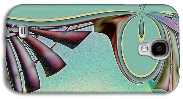 Da Vinci's Nudge Galaxy S4 Case by Wendy J St Christopher