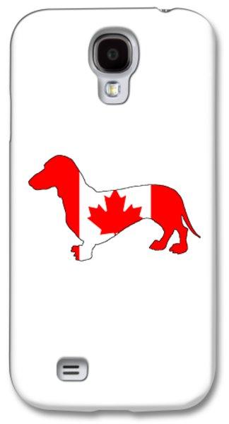 Dachshund Canada Galaxy S4 Case by Mordax Furittus