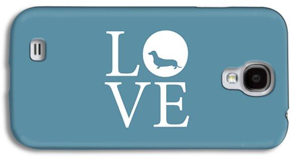 Dachshund Love Galaxy S4 Case