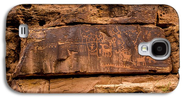 Daddy Canyon Petroglyph - Nine Mile Canyon - Utah Galaxy S4 Case