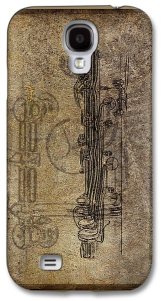 Dads Clarinet Galaxy S4 Case